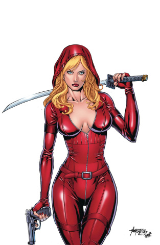 Grimm Fairy Tales: Red Agent - The Human Order #8 (Reyes Cover)