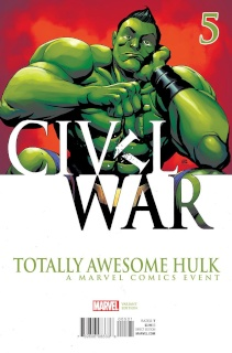 Totally Awesome Hulk #5 (Pham Civil War Cover)