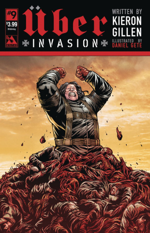Über: Invasion #9 (Blitzkreig Cover)