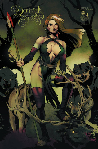Damsels in Excess #4 (10 Copy Cover)
