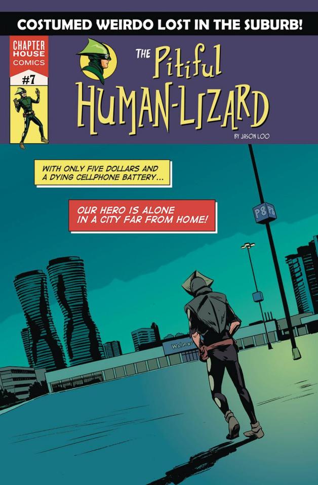 The Pitiful Human-Lizard #7 (Loo Cover)