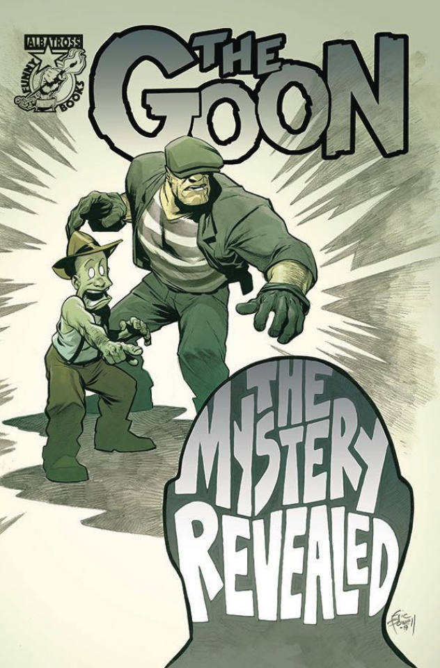 The Goon #8 (Powell Cover)