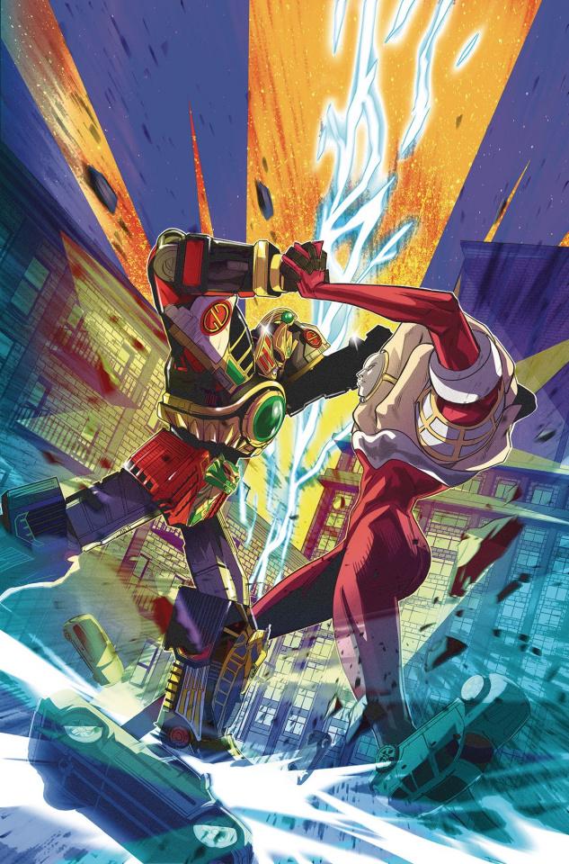 Go, Go, Power Rangers! #27 (Carlini Cover)