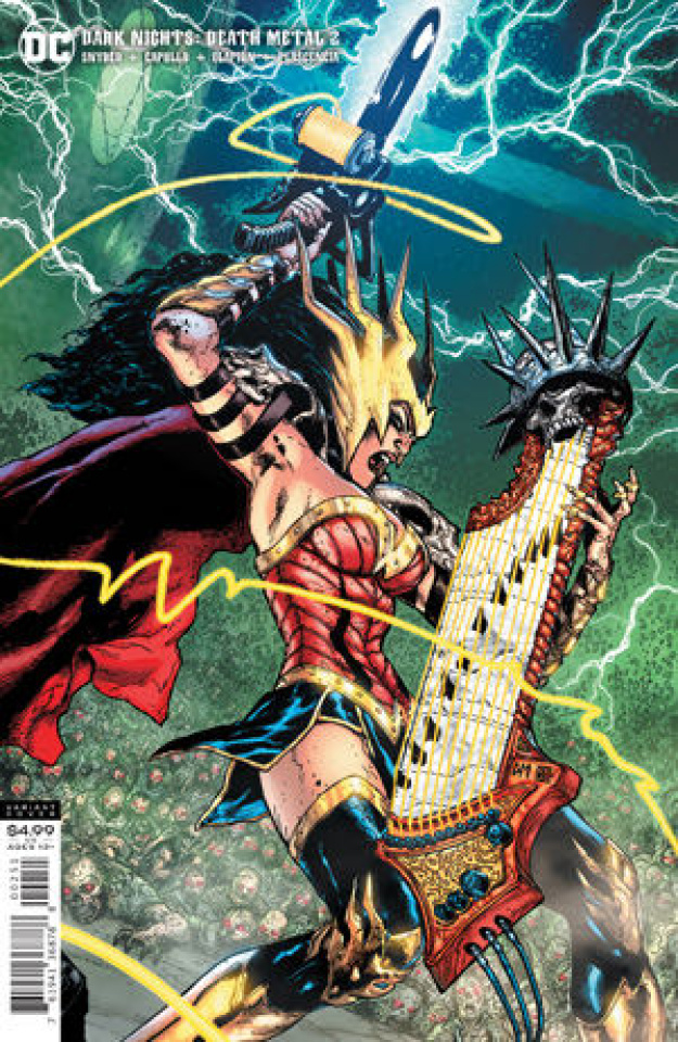Dark Nights: Death Metal #2 (1:25 Doug Mahnke Cover)