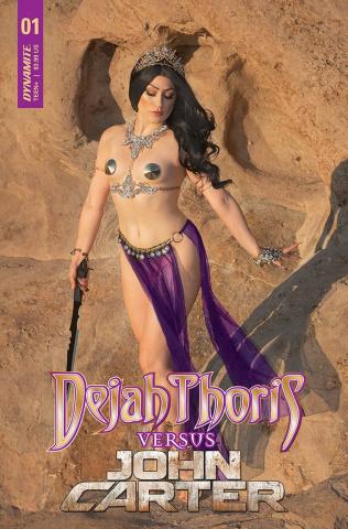 Dejah Thoris vs. John Carter of Mars #1 (Cosplay Cover)