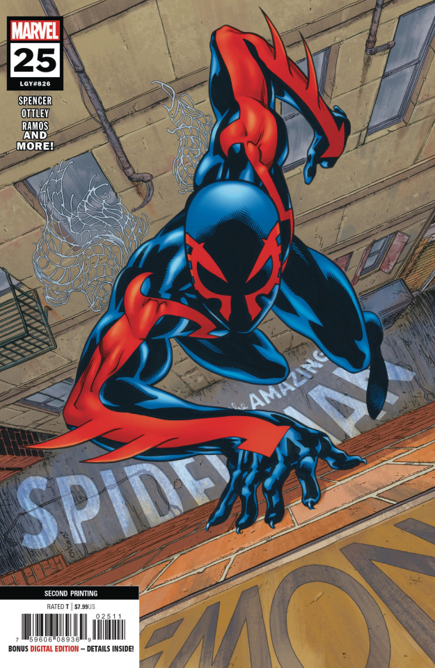 The Amazing Spider-Man #25 (McGuinness 2nd Printing)