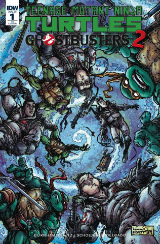 Teenage Mutant Ninja Turtles / Ghostbusters 2 #1 (20 Copy Cover)