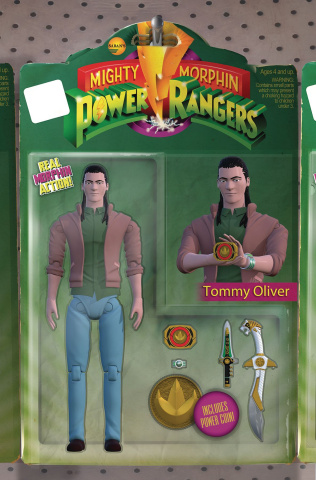 Mighty Morphin' Power Rangers #22 (Unlockable Action Figure Cover)
