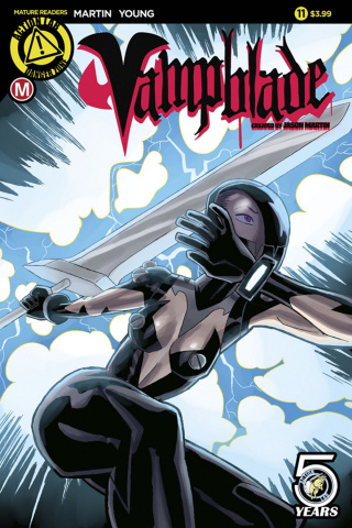 Vampblade #11 (Young Cover)