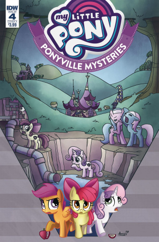 My Little Pony: Ponyville Mysteries #4 (Garbowska Cover)