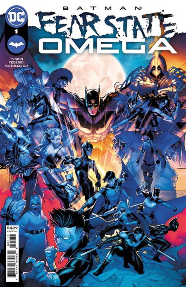 Batman: Fear State Omega #1 (Jamal Campbell Cover)
