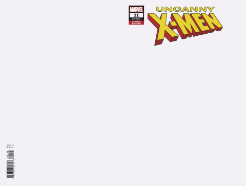 Uncanny X-Men #11 (Blank Cover)