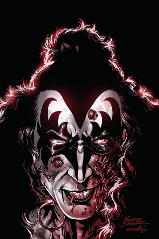 KISS: Zombies #2 (20 Copy Buchemi Virgin Cover)