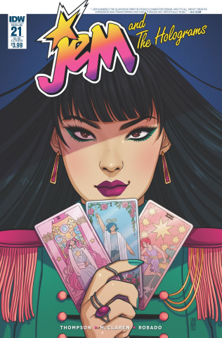 Jem and The Holograms #21 (Subscription Cover)
