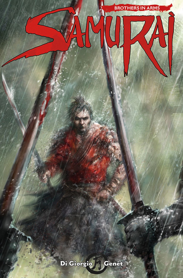 Samurai: Brothers in Arms #4 (Percival Cover)