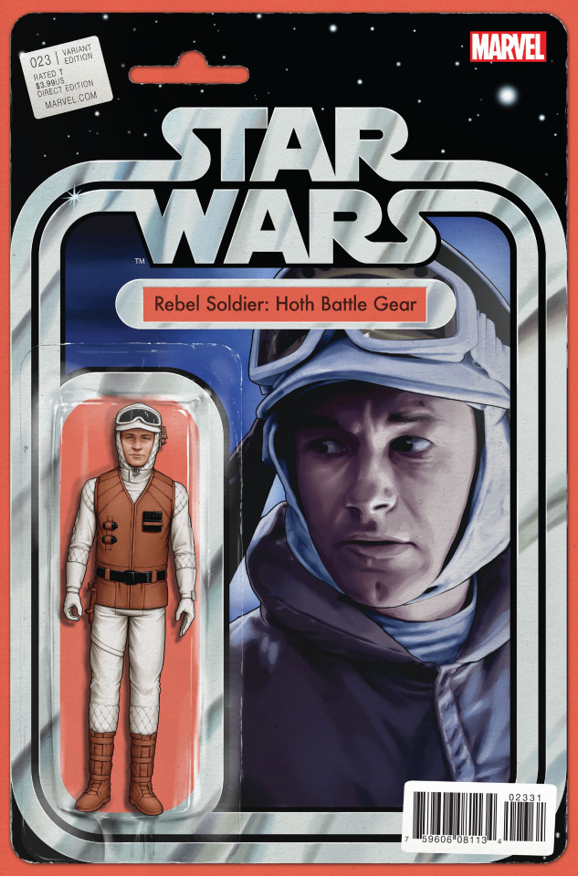 Star Wars #23 (Christopher Action Figure Cover)