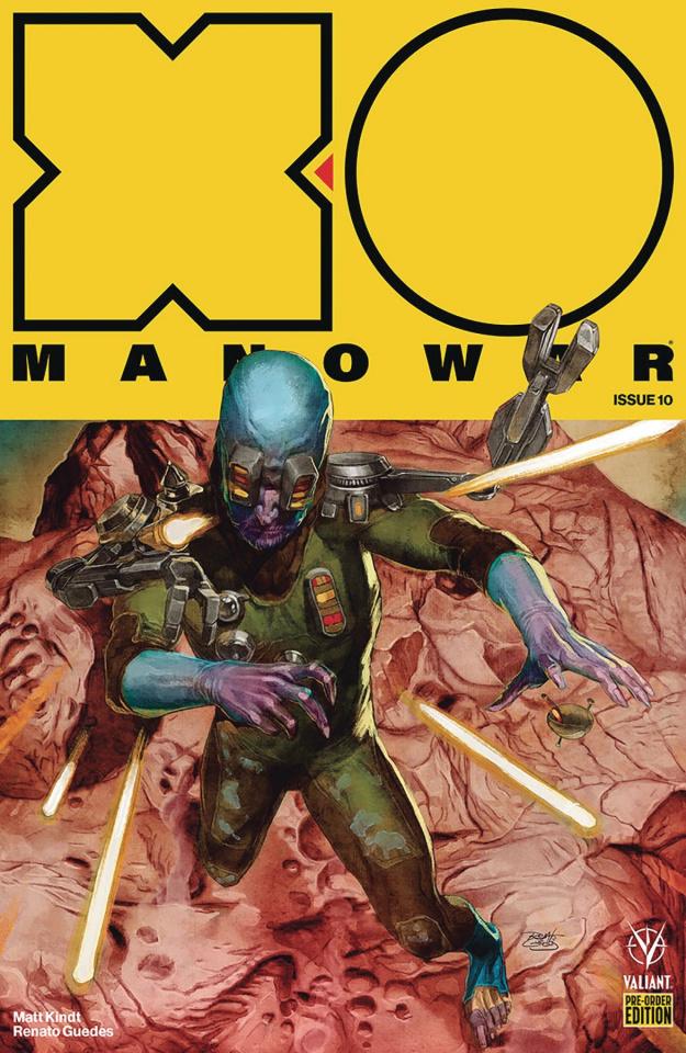 X-O Manowar #10 (Pre-Order Bundle Covers)