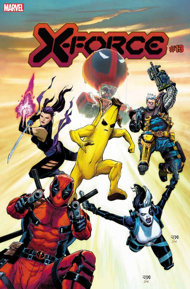 X-Force #13 (Cassara Fortnite Cover)