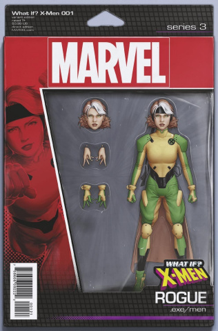 What If? X-Men #1 (Christopher Action Figure Cover)