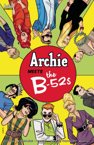 Archie Meets the B-52s #1 (Eisma Cover)