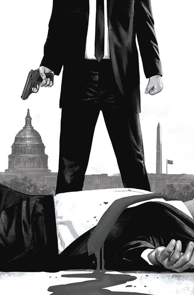 James Bond: Agent of SPECTRE #1 (25 Copy Epting B&W Virgin Cover)