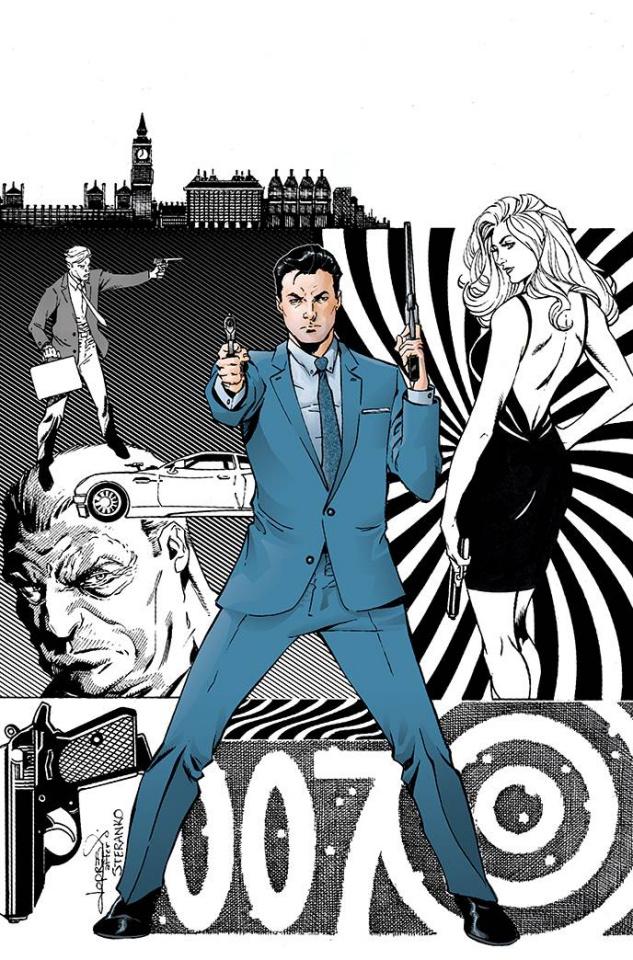 James Bond: Agent of SPECTRE #3 (10 Copy Lopresti Virgin Cover)