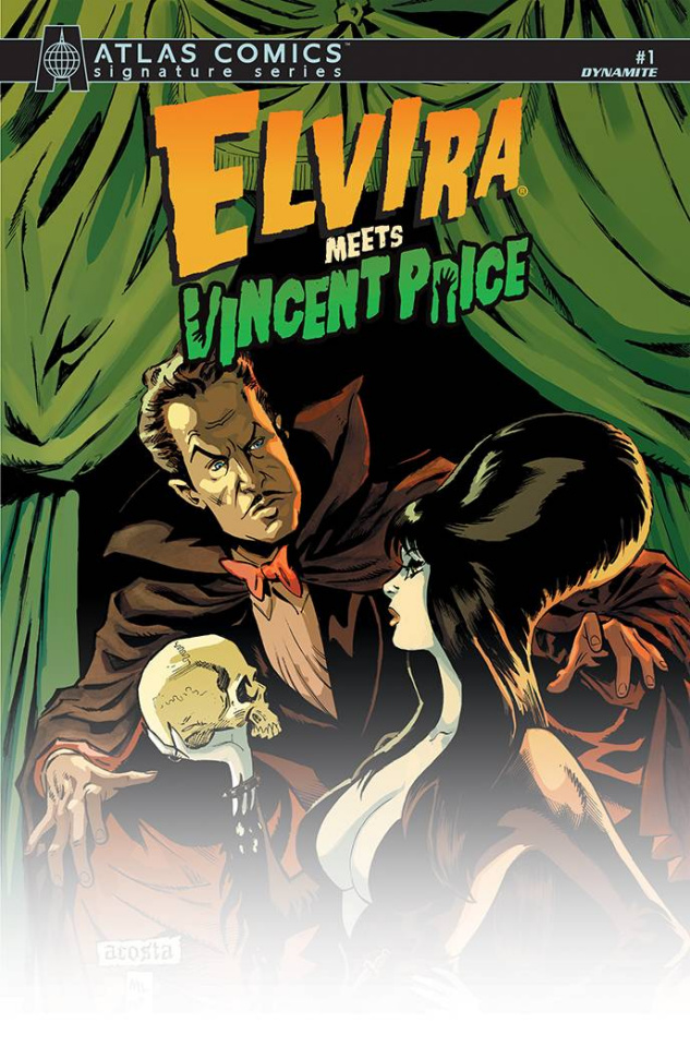 Elvira Meets Vincent Price #1 (Avallone Signed Atlas Edition)
