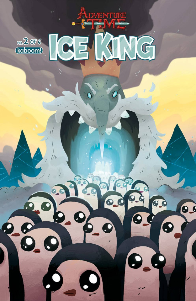 Adventure Time: The Ice King #2 (Subscription McCormick Cover)