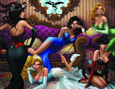 Grimm Fairy Tales #100 (Franchesco Cover)
