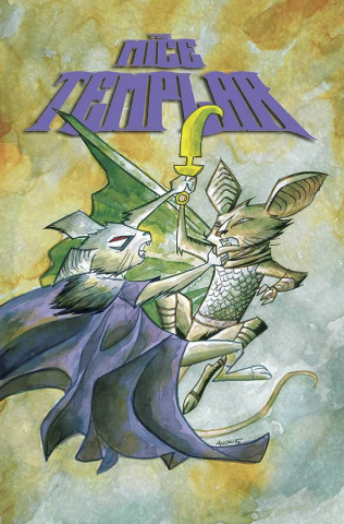 The Mice Templar: Night's End #4 (Oeming Cover)