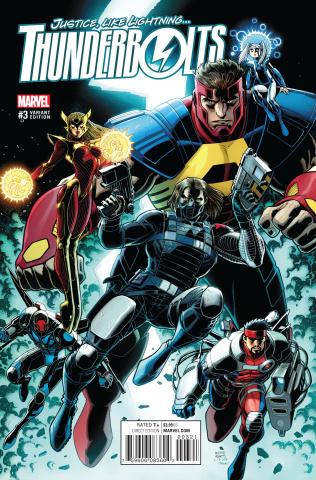 Thunderbolts #3 (Art Adams Cover)