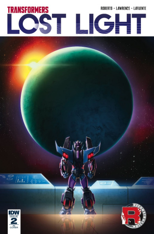 The Transformers: Lost Light #2 (10 Copy Cover)