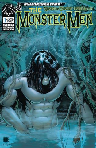 The Monster Men #1 (Wolfer Cover)