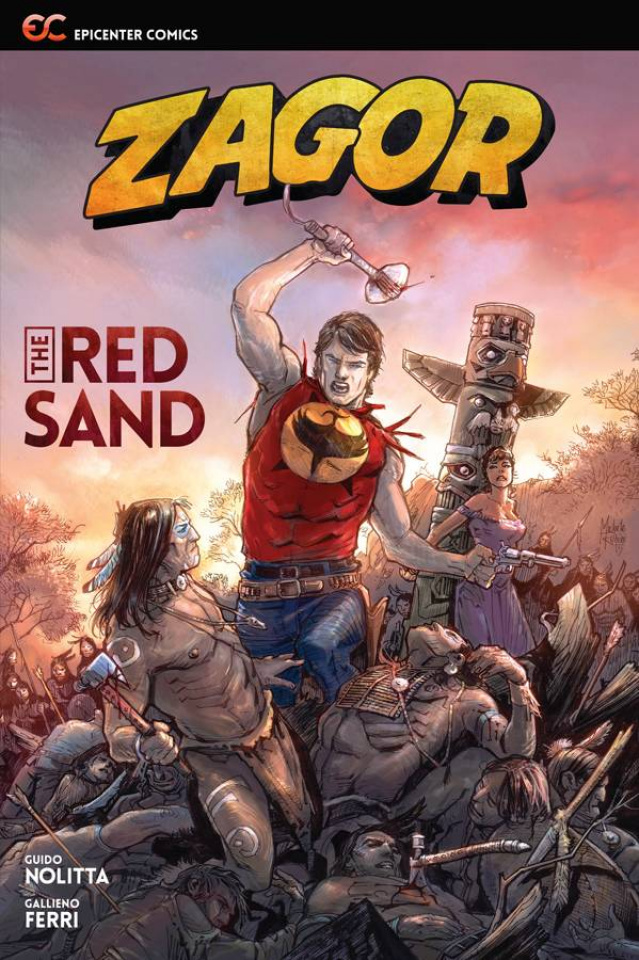 Zagor: The Red Sand