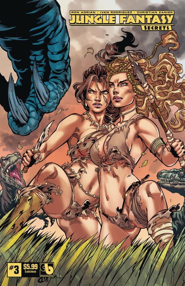 Jungle Fantasy: Secrets #3 (Luscious Cover)