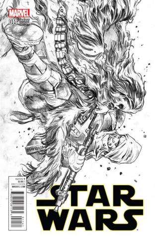 Star Wars #11 (Immonen Sketch Cover)