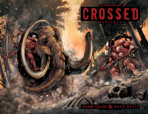 Crossed: Badlands #78 (Megafauna Mayhem Cover)