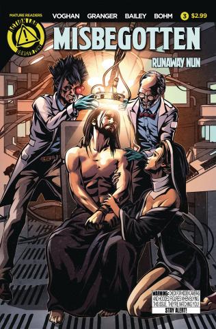 Misbegotten Runaway Nun #3 (Case Cover)