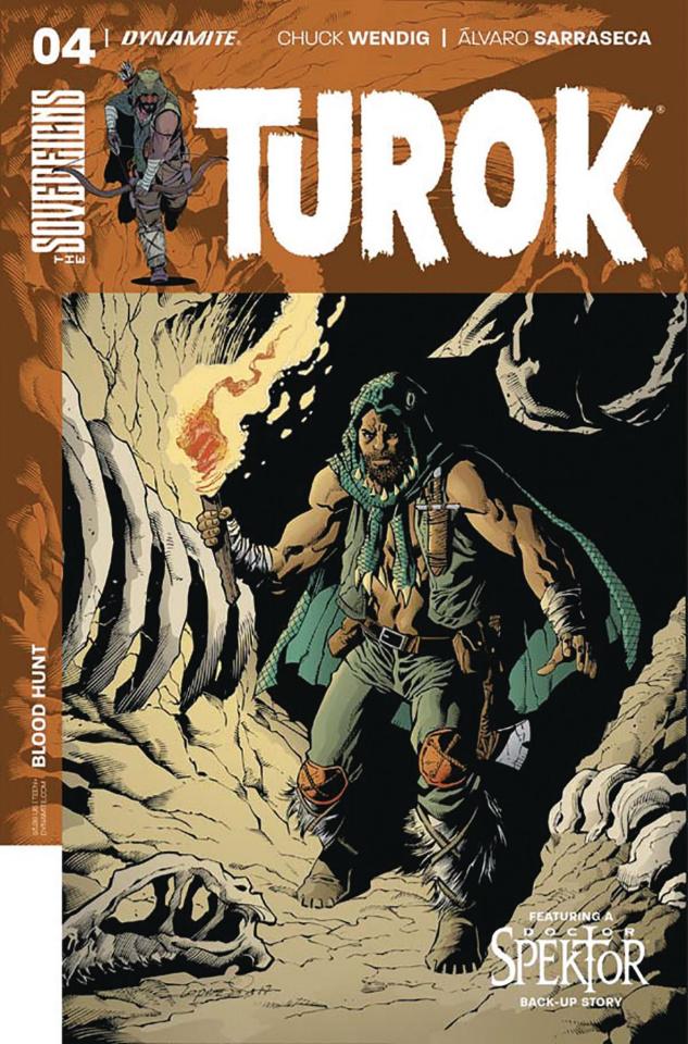 Turok #4 (Lopresti Cover)