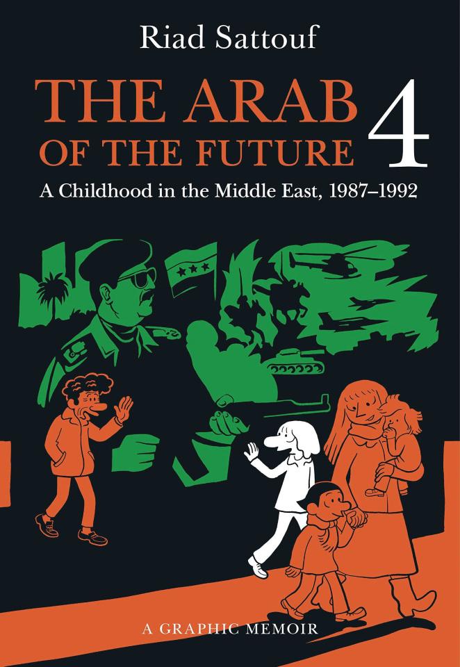 The Arab of the Future Vol. 4: 1987-1992