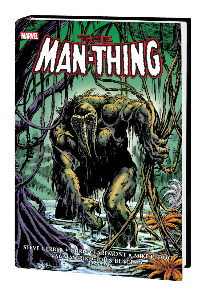 The Man-Thing (Omnibus Brunner Cover)