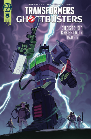 The Transformers / Ghostbusters #5 (10 Copy Stanley Cover)