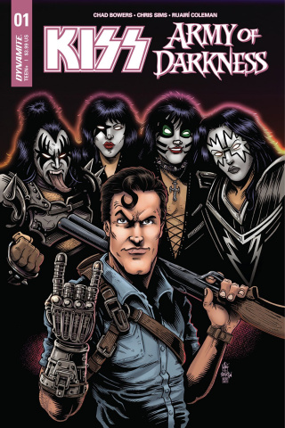 KISS / Army of Darkness #1 (Haeser Cover)