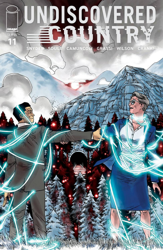 Undiscovered Country #11 (Camuncoli Cover)