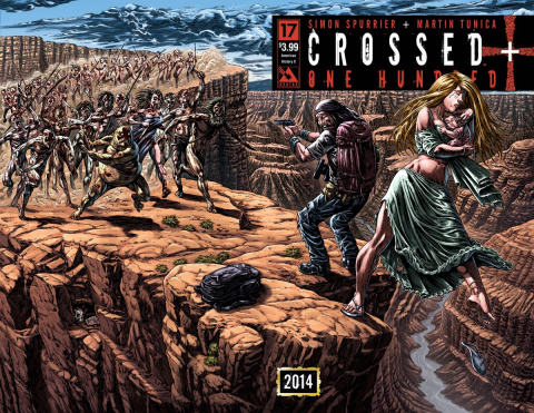 Crossed + One Hundred #17 (American History X Wrap Cover)