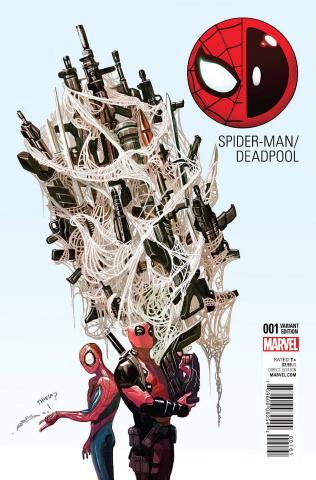 Spider-Man / Deadpool #1 (Del Mundo Cover)