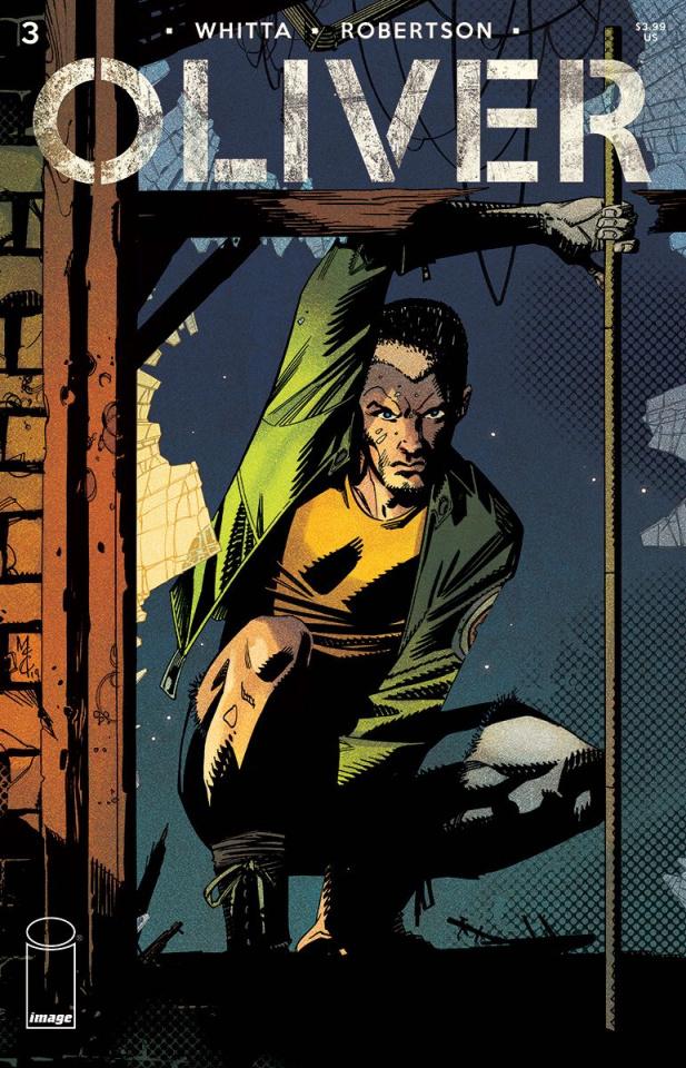 Oliver #3 (McCrea Cover)