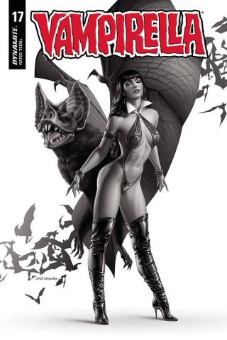 Vampirella #17 (40 Copy Iakovlev B&W Cover)