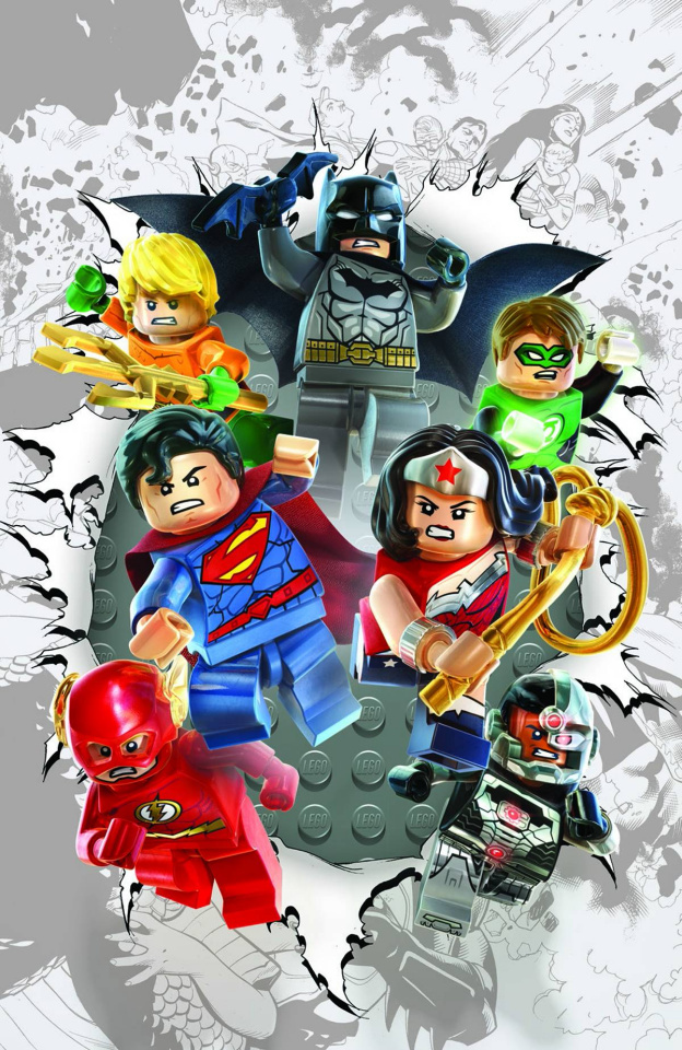 Justice League #36 (Lego Cover)