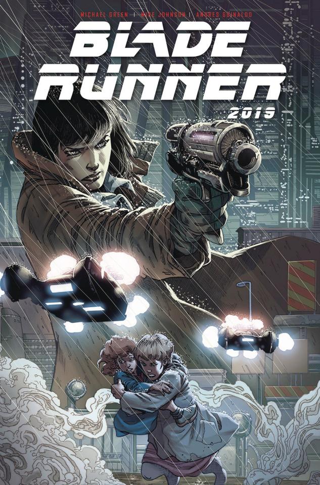 Blade Runner 2019 #1 (Guinaldo Cover)
